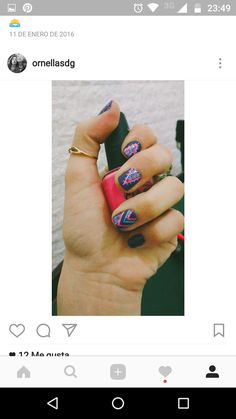 #orneproducciones#nail#nailart#originaldesing#violet#pink#fashion#hot