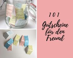 Du suchst nach romantischen Ideen für Gutscheine für deinen Freund? In diesem Artikel bekommst du 101 Ideen und Vorlagen die du SOFORT herunterladen kannst!