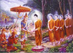 """X. Bimbiszára látogatása (Képtalálat a következőre: """"buddha life"""")"""