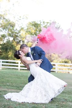 haley tobias blog: Whimsical Fuchsia and Gold Wedding