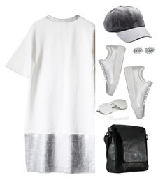 """Sneakers & Dress"" by ragnh-mjos ❤ liked on Polyvore featuring Prada Sport, Charlotte Russe and Edge Only"