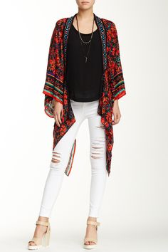 Mandaril Lapel Bed Jacket (Juniors) by MiaMax From London with Love on @nordstrom_rack