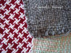 tejiendotejerasblog.wordpress.com Textiles, Lana, Weaving, Blog, Crochet Hats, Knitting, Wordpress, Potholders, Iris