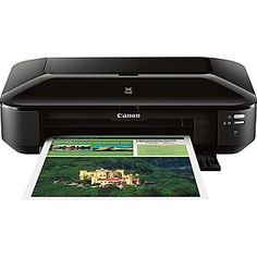 Canon iX6820 Color Inkjet Wireless Business Printer, New