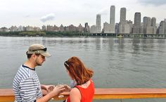 I want to take an Architectural Cruise Around Manhattan organized by the AIA. William Grimes reported warmly about the cruise in Sept. 14th's edition of NYTimes.com.