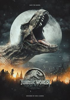 Jurassic World Fallen / It's At The Real World Of The Prehistoric Dinosaurs Tyrannosaurus Rex Jurassic World Poster, Jurassic World Wallpaper, Jurassic World Fallen Kingdom, Jurassic Park World, Jurassic Park Tattoo, Jurassic Park Trilogy, Jurassic Park Party, Jurassic Movies, Prehistoric Dinosaurs