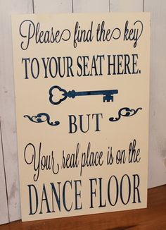 Wedding signs/ Reception tables/Seating Plan/Seating Assignment Sign/Choose a Seat/Key to Your table/Key/Navy