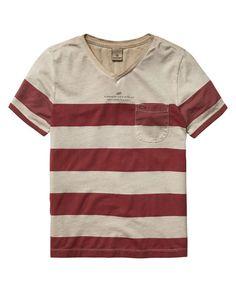 Small Text T-Shirt  - Scotch