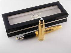 stylo mont blanc meisterstuck ag 925