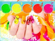 #summer   #neon   #nails   #nailart   #favorite   Neue Sommer-Farben - jetzt im Onlineshop!  Welche ist Dein Favorit?