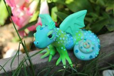 One of my polymer clay fantasy dragons