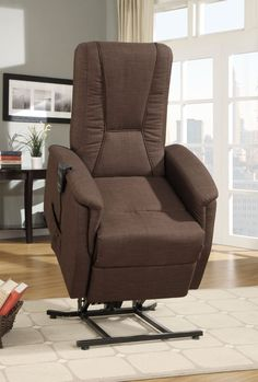 Affordable Recliner Chairs charcoal chenille fabric power lift recliner chair 600398