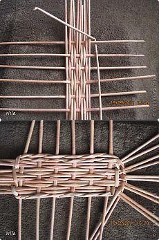 Discover thousands of images about KUFER - artystyczne rękodzieło : Wiklinowe diy Paper Basket Weaving, Willow Weaving, Weaving Art, Newspaper Basket, Newspaper Crafts, Recycled Paper Crafts, Recycled Magazines, Basket Crafts, Diy Furniture Couch
