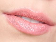 """MAC Cremesheen Lipstick in Peach Blossom ($14.50 USD / $17.50 CAD for 0.1oz / 3g): described by MAC as a """"frosted cool nude"""". Can be considered more of a mid-tone nude pink. It's almost a my-lips-but-better shade, but with a bit more pink. A very safe and wearable shade."""
