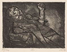 Dead man in the mud <br /><i>Toter im Schlamm</i>1924