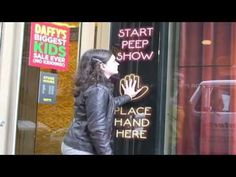 Daffy's Virtual Peep Show in Times Square New York