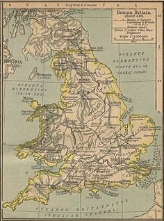 Their names are in large italics: Iceni, Brigantes, Coritani and so on. The Iceni were Boudicca's tribe, who led a rebellion against the empire.