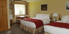 "Our comfortable 2nd floor guest rooms with 32"" flat screen TV and free wireless internet."