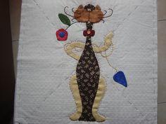 Colcha Patchword gato 1