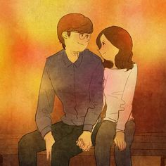 Cute Love, Love Is Sweet, Real Love, What Is Love, I Love You, Love Couple, Couple Art, Amor Forte, Puuung Love Is