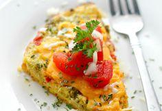 17. Veggie Omelette #crockpot #breakfast #recipes http://greatist.com/eat/healthy-crock-pot-recipes-for-breakfast