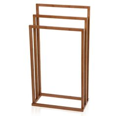 Moeve - Towel Rack - Bamboo - Would quite like this in the bedroom as s clothes horse