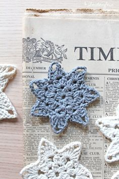 Häkelsterne Als Coaster Mit Anleitung * Crochet Star - Coaster With Diy Tutorial - Page 2 of 31 - Free Crochet Patterns Crochet Crafts, Yarn Crafts, Crochet Projects, Free Crochet, Diy Crafts, Finger Knitting, Arm Knitting, Knitting Patterns, Beginner Knitting Projects