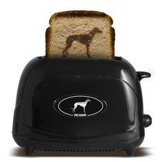Greyhound Dog Toaster @Juan Soneyra