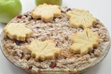 Apple Cranberry Pie recipe from Chef Eddy Van Damme