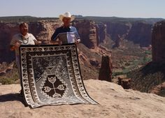 Cara Gorman weaving are nothing short of spectacular.  To see the close ups of this marvelous Navajo Two Grey Hill weaving click here!