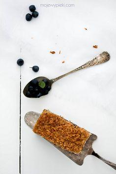 Ciasto jagodowe z kokosową kruszonką