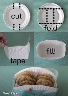 Great DIY cookie box gift