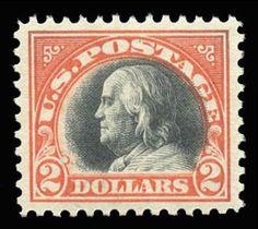 Century Stamps has this item on Collectors Corner - Scott# 523, 1918 $2 Orange red & black, PSE Superb 98, Mint OGnh