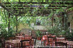 """""""To Koutouki Tou Barba Dimitris"""" tavern in Pirgos, Samos Island, eastern Aegean Sea, Greece ✯ ωнιмѕу ѕαη∂у"""