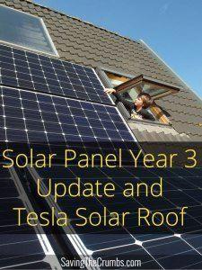 Solar Panels Year 3 Update And Tesla Solar Roof Solarpanels Solarenergy Solarpower Solargenerator Solarpanelkits Solarwat Solar Panels Best Solar Panels Solar