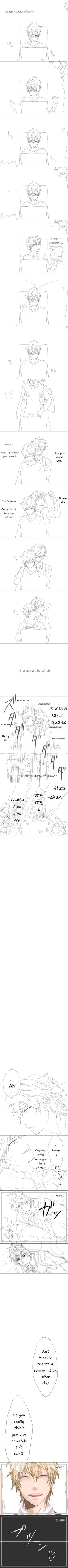 Im not that big a fan of Yaoi but this is just too adorable <3 (the first part, didn't even see the second part XD)