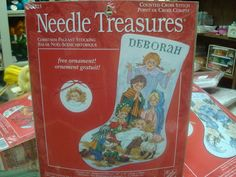 Needle Treasures Counted Cross Stitch by CindysNeedlework on Etsy, $23.95