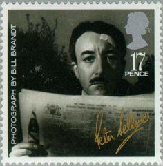 Stamp: Peter Sellers (United Kingdom of Great Britain & Northern Ireland) (British Film Year) Mi:GB 1044,Sn:GB 1119,Yt:GB 1195,Sg:GB 1298,AFA:GB 1160