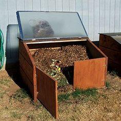 Composting http://www.rodalesorganiclife.com/shower-door-compost-bin?cm_mmc=pinterest-_-OrganicGardening-_-Content-LearnGrow-_-showerdoorcompostbin
