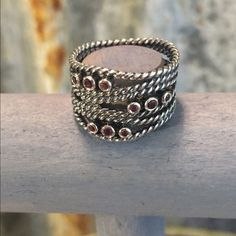 New Listing Retired Pandora Hidden Romance Ring New Listing Retired Pandora Hidden Romance Ring in good condition. I bought this on Posh and only wore it 1 time. Previous owner wore it twice. Ring comes with Pandora box. Price is firm just trying to get back what I paid so I can buy something I will wear more frequently. Don't pass this beauty up. Thanks for looking.❤️❤️❤️ I took to Jeweler and verified size 6 1/2. Pandora Jewelry Rings