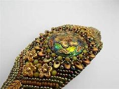 Image result for bead embroidery jewelry