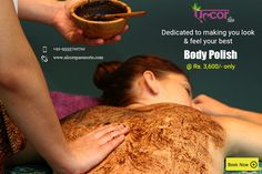 Book for yourself a soothing Body polishing session which will make your skin soft & supple!For booking visit us at: http://alcorspa.in/book-appointment/ or call us at: +91-9015191926#AlcorSpa #BodySpa #SpaTreatments #BodyPolish #BestSpainGurgaon #BookAppointment