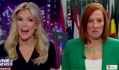 Jen Psaki, that useless State Department idiot spokesperson getting schooled by Megyn Kelly