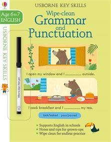 Wipe Clean Grammar And Punctuation 6 7 New For June 2017 Grammar And Punctuation Cleaning Wipes Grammar Skills