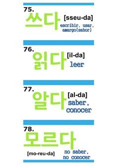 Korean Words Learning, Korean Language Learning, Korean Phrases, Korean Quotes, Learning Languages Tips, Learn Hangul, Korean Writing, Korean Alphabet, Korean Lessons