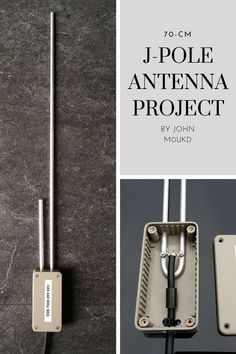 J-Pole Antenna Project by John Ham Radio Kits, Best Ham Radio, Fm Antenna Diy, Ham Radio Antenna, Antenne Fm, Two Way Radio, Energy Technology, Electronics Projects, Emergency Preparedness
