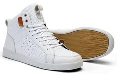 "CLAE Russell ""White Leather"""
