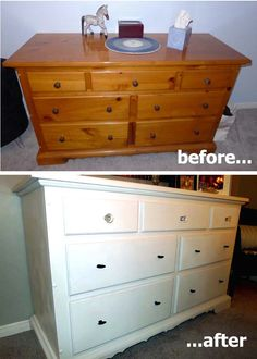DIY Dresser instructions. Maybe use as a changing table