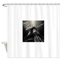 Vintage French Store Front Shower Curtain On CafePress.com | For The Home |  Pinterest | Store Fronts, Monogram Shower Curtains And Curtain Fabric