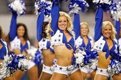 Kelsi Reich and other Dallas Cowboys Cheerleaders